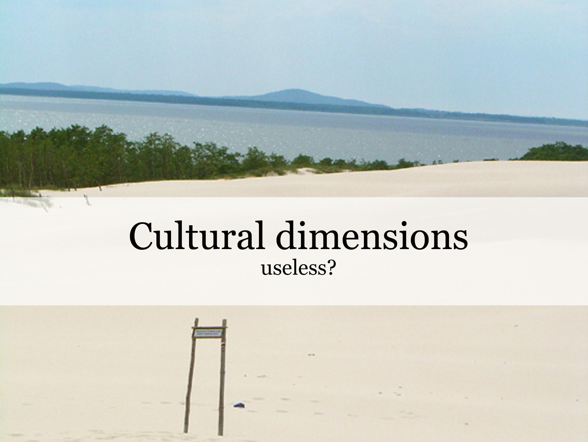 Cultural dimensions useless_ProjectAbroad.Eu